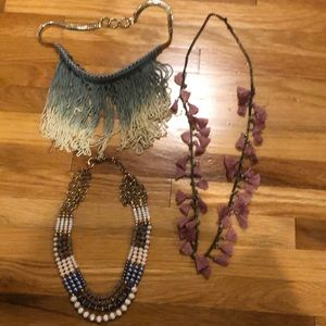 Assortment of trendy necklaces !